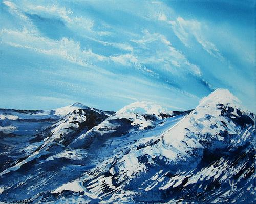 Ulf Göbel, Untergang, Landschaft: See/Meer, Diverse Gefühle, Gegenwartskunst