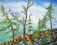 Ulf-Goebel-Landschaft-Berge-Pflanzen-Baeume-Gegenwartskunst-Gegenwartskunst