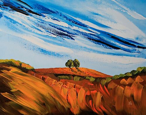 Ulf Göbel, Augenblick, Diverse Landschaften, Ernte, Gegenwartskunst