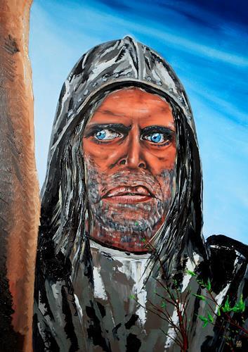 Ulf Göbel, Aquirre, Menschen: Gesichter, Menschen: Mann, Gegenwartskunst
