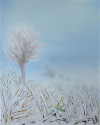 Joerg Peter Hamann, Wintertime, Landschaft: Winter, Natur: Erde, Naturalismus, Expressionismus