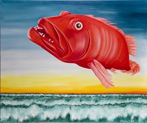 Joerg Peter Hamann, Encore une fois, Tiere: Wasser, Natur: Wasser, Postsurrealismus