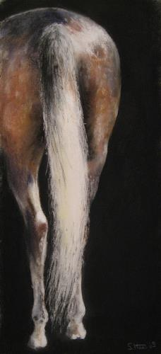 Sabina Haas, The White Tail, Tiere: Land, Poesie, Gegenwartskunst