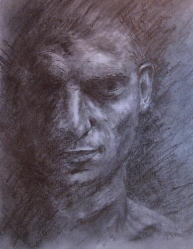 Sabina Haas, En face, Menschen: Gesichter, Menschen: Porträt, Gegenwartskunst