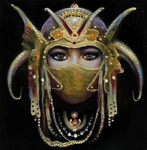 Giampaolo Bianchi, Come una maschera, Menschen: Frau, Fashion, Gegenwartskunst, Expressionismus