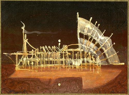 Giampaolo Bianchi, Non domandarti cosè, Abstraktes, Architektur, Gegenwartskunst, Expressionismus