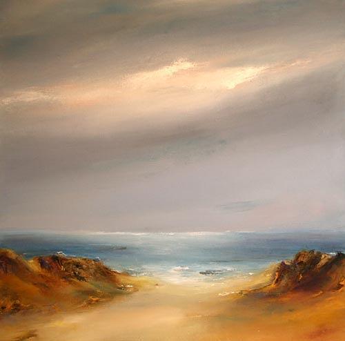 Petra Ackermann, Calm Seas, Landschaft: See/Meer, Gegenwartskunst