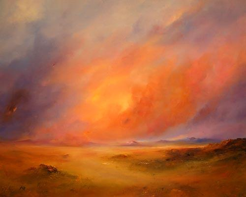 Petra Ackermann, Cielo Colorado, Landschaft: Ebene, Natur: Gestein, Gegenwartskunst