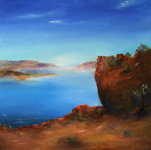 Petra Ackermann, There is Magic, Landschaft: See/Meer, Natur: Gestein, Gegenwartskunst