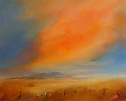 Petra Ackermann, The Enchanted Land, Landschaft: Ebene, Landschaft: Berge, Gegenwartskunst