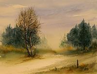P. Ackermann, Zwei Birken