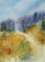 Petra-Ackermann-Landschaft-Huegel-Natur-Wald-Gegenwartskunst-Gegenwartskunst