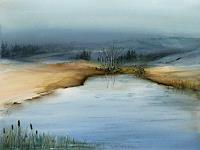 Petra-Ackermann-Landschaft-See-Meer-Landschaft-Winter-Gegenwartskunst-Gegenwartskunst