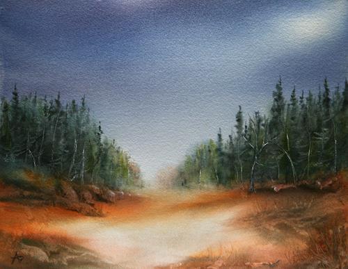 Petra Ackermann, TRail of Beauty, Natur: Wald, Diverse Landschaften, Gegenwartskunst
