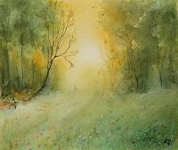 Petra-Ackermann-Landschaft-Fruehling-Natur-Wald-Gegenwartskunst-Gegenwartskunst