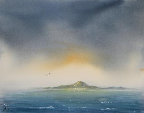 Petra Ackermann, Moments, Landschaft: See/Meer, Natur: Wasser, Gegenwartskunst