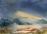 Petra-Ackermann-Landschaft-Berge-Natur-Diverse-Gegenwartskunst-Gegenwartskunst