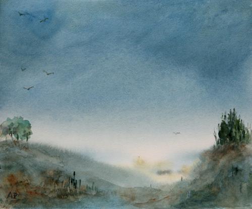 Petra Ackermann, EverDream, Diverse Landschaften, Natur: Diverse, Gegenwartskunst, Expressionismus