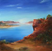 Petra-Ackermann-Landschaft-See-Meer-Natur-Wasser-Gegenwartskunst-Gegenwartskunst