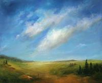 Petra-Ackermann-Landschaft-Ebene-Natur-Diverse-Gegenwartskunst-Gegenwartskunst
