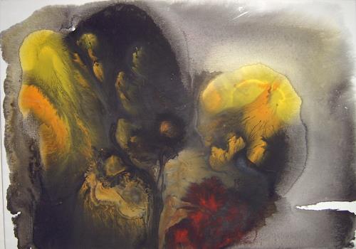 Lukas Stoffel, Sous la mer, Fantasie, Abstraktes, Gegenwartskunst