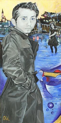 Lukas Stoffel, Zurückblickend, Menschen: Gesichter, Situationen, Neo-Expressionismus, Abstrakter Expressionismus