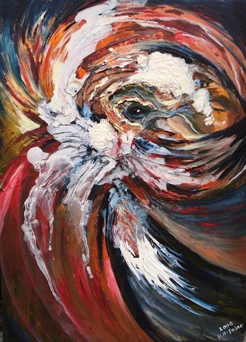 Helga Anders-Faber, Aguirre, Abstraktes, Fantasie, Abstrakte Kunst, Abstrakter Expressionismus