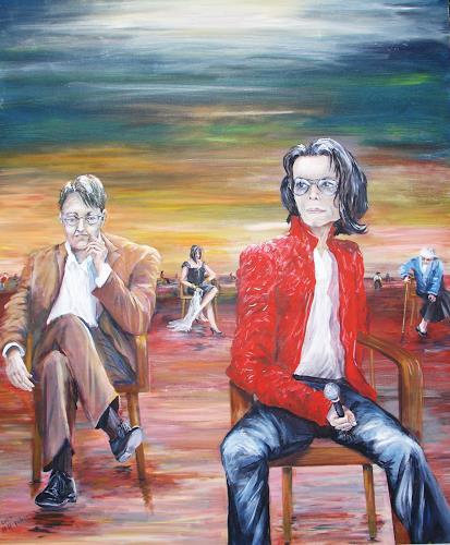 Helga Anders-Faber, Einsamkeit 2, Gefühle: Depression, Fantasie, expressiver Realismus