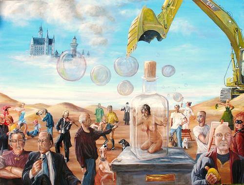 Helga Anders-Faber, Ende der Illusionen, Gesellschaft, Diverse Gefühle, Gegenwartskunst