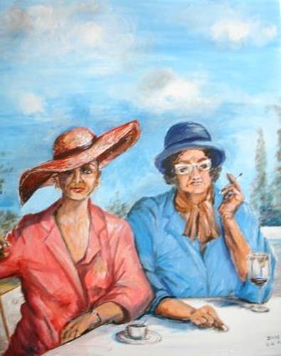 Helga Anders-Faber, Hedwig und Gerlinde, Menschen: Frau, expressiver Realismus