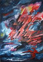 Karl-Heinz-Gewande-Gefuehle-Angst-Diverse-Weltraum-Moderne-Symbolismus