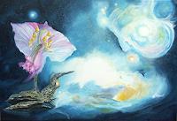 Karl-Heinz-Gewande-Fantasie-Pflanzen-Blumen-Moderne-Naturalismus