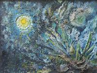 Karl-Heinz-Gewande-Fantasie-Diverse-Weltraum-Moderne-Symbolismus