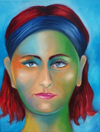 Anne Radstaak, Kunstfehler, Menschen: Porträt, Menschen: Frau, Gegenwartskunst