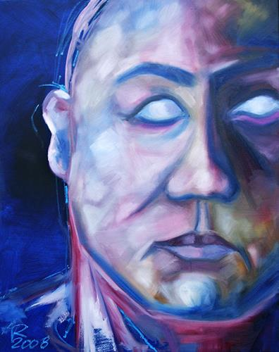 Anne Radstaak, Ohne Titel, Menschen: Porträt, Menschen: Mann, Gegenwartskunst