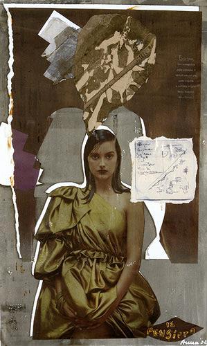 Anna Heickmann, Il Pensiero, Fashion, Abstraktes, Moderne, Abstrakter Expressionismus