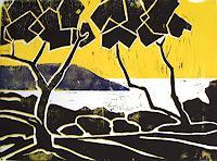 Manfred-Riffel-Landschaft-Strand-Moderne-Expressionismus-Neo-Expressionismus