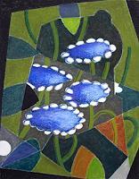 Manfred-Riffel-Pflanzen-Blumen-Moderne-Impressionismus-Neo-Impressionismus