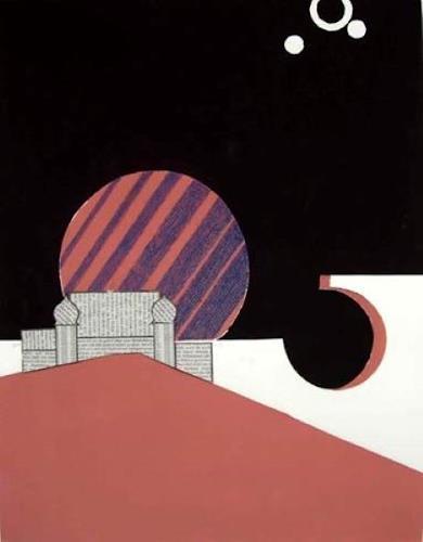 Manfred Riffel, auf IO, Landschaft, Gegenwartskunst