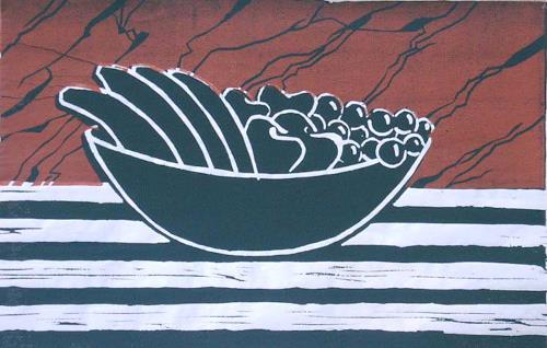 Manfred Riffel, 3 Farben, Natur, Gegenwartskunst, Expressionismus