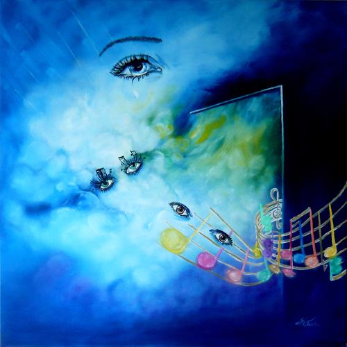 Mariola Wloch, The Great Gig In The Sky, Fantasie, Musik: Konzert, Surrealismus
