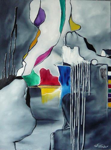 Mariola Wloch, Demarkationen, Gesellschaft, Diverses, Abstrakte Kunst, Abstrakter Expressionismus