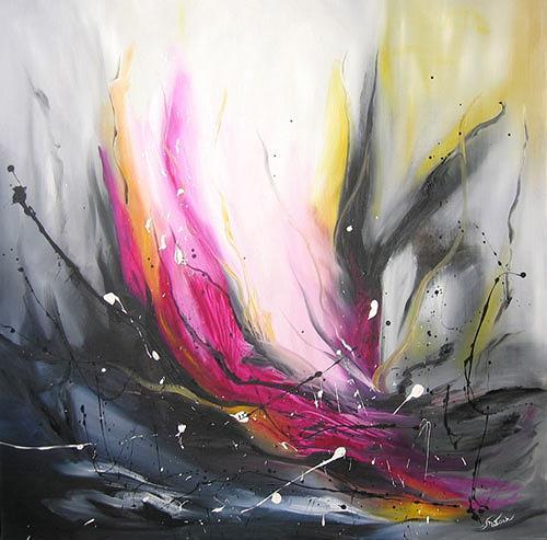 Mariola Wloch, Ahnungen, Abstraktes, Diverse Gefühle, Abstrakte Kunst