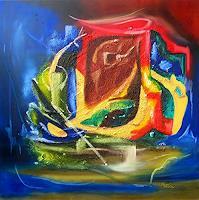Mariola-Wloch-Abstraktes-Fantasie-Moderne-Abstrakte-Kunst