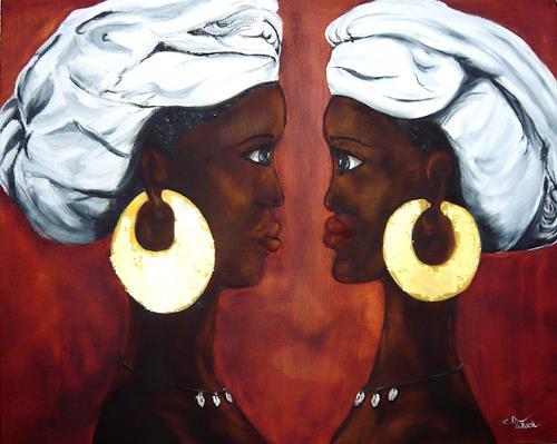 Mariola Wloch, Afrikanische Frauen, Menschen: Frau, Realismus