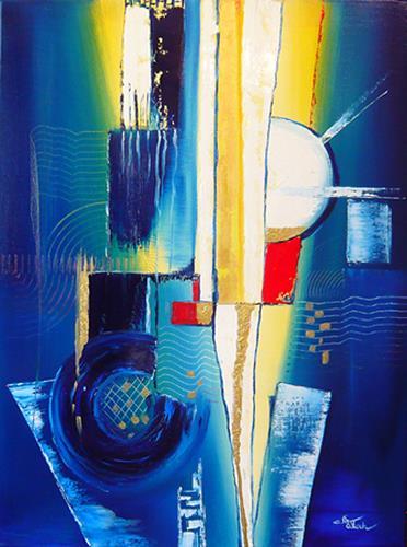 Mariola Wloch, Die neuen Babelturme, Symbol, Gesellschaft, Abstrakte Kunst