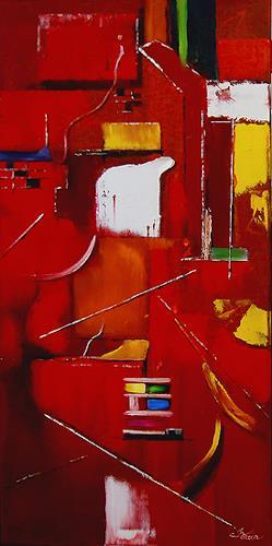 Mariola Wloch, Das Geben, Abstraktes, Abstrakte Kunst