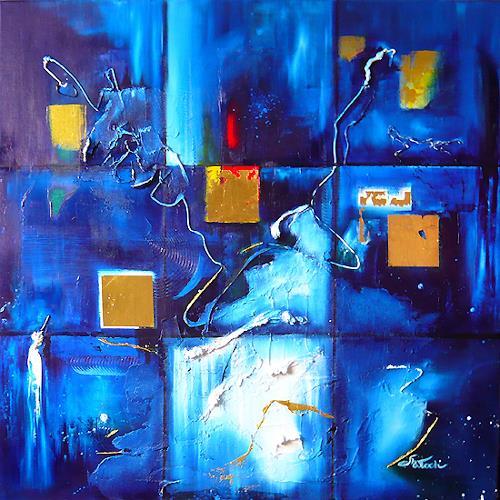 Mariola Wloch, Who I Am, Abstraktes, Abstrakte Kunst