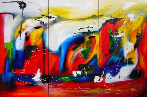 Mariola Wloch, My Way, Diverse Gefühle, Abstrakte Kunst