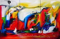 Mariola-Wloch-Diverse-Gefuehle-Moderne-Abstrakte-Kunst